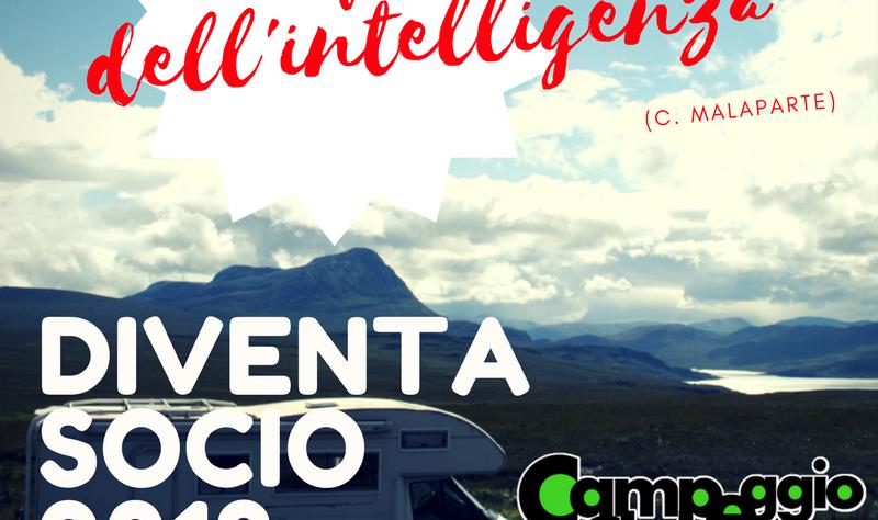 Socio Club 2018 camperisti camper campeggio ACTI
